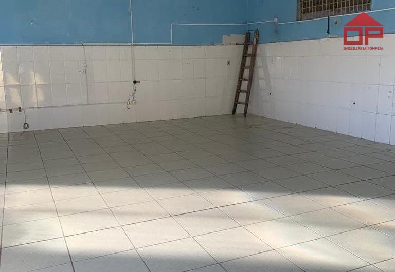 Salão + casa